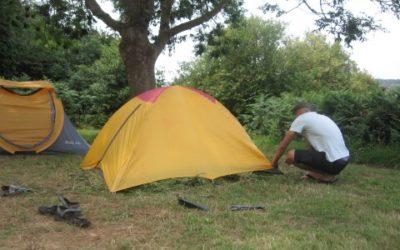 Séjour éducatif en camping sur l'Ile Bréhat