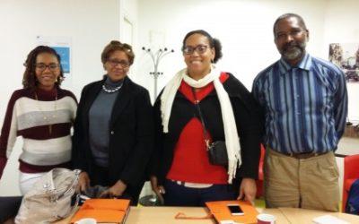 Une délégation de l'association Oasis en visite aux MAPE